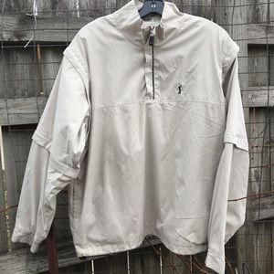 PGA Tour 1/4 Zip👀 Pullover Shirt Jacket Size L